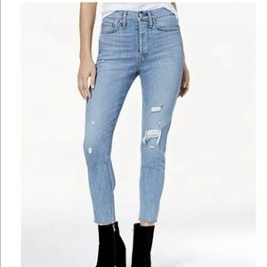 LEVIS Wedgie Fit High Waist Skinny size 28